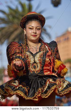 Caporales Dancer