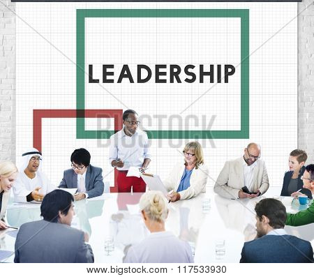 Lead Leadership Boss Manager Authority Concept