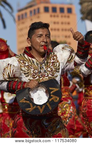 Caporales Dancer