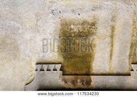 Sumirago Lombardy   Varese     Wall  A Curch Broke Brike    Day