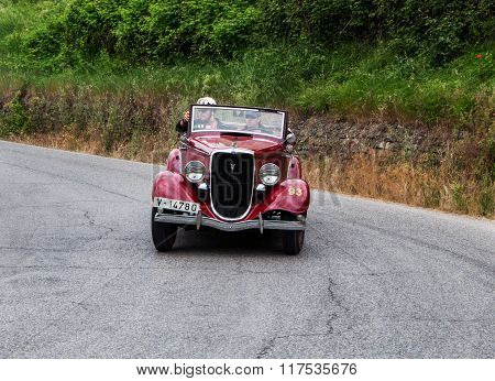 FORD B 8V Spider Carrozzeria Ambrosini  Botta 1933