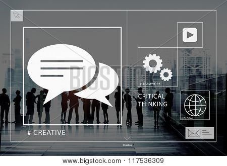 Big Business People Meeting Creative Teamwork Concept