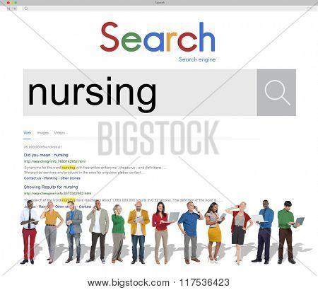 Nursing Healthy Hospital Diagnosis Concept