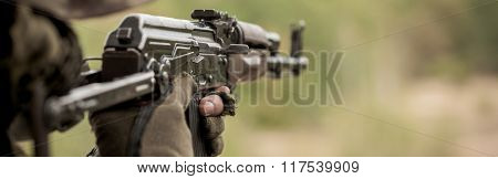 Automatic Weapon For Army