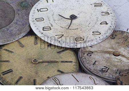 Macro watches background