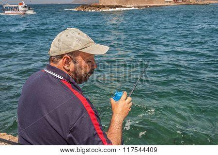 Fisherman Closeup
