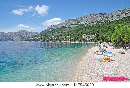 Brela,Makarska Riviera,Croatia