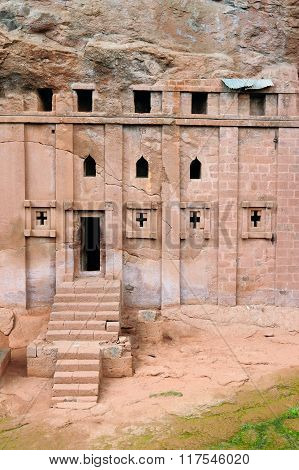 Orthodox Churches Carve In Solid Rock In Lalibela