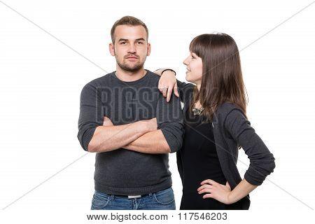 Self-confident Couple