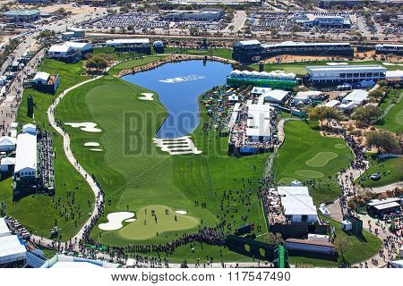Scottsdale, Arizona, Usa-february 3, 2016 Pro-am Day At The Phoenix Open