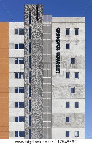 Grundfos kollegiet building in Aarhus, Denmark