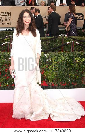 LOS ANGELES - JAN 30:  Carice Van Houten at the 22nd Screen Actors Guild Awards at the Shrine Auditorium on January 30, 2016 in Los Angeles, CA