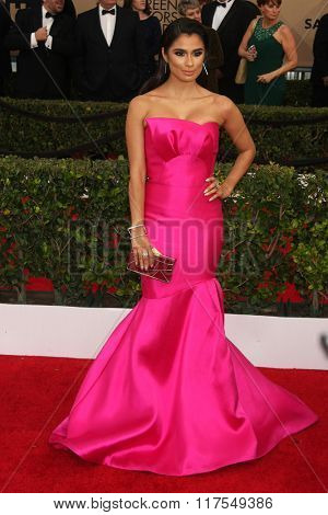 LOS ANGELES - JAN 30:  Diane Guerrero at the 22nd Screen Actors Guild Awards at the Shrine Auditorium on January 30, 2016 in Los Angeles, CA