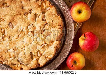Homemade pie