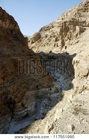Judea Desert Mountain Landscape, Israel