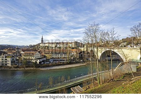 Bern By The Aare River