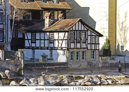 Half-timbered House In Bern