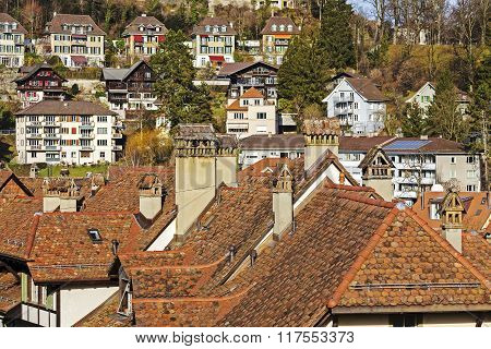 Roofs And Townhouses Of Bern