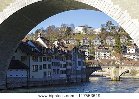 The Cityscape Of Bern