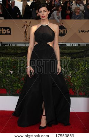 LOS ANGELES - JAN 30:  Jessica Pare at the 22nd Screen Actors Guild Awards at the Shrine Auditorium on January 30, 2016 in Los Angeles, CA