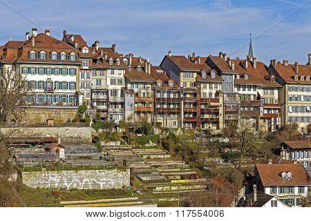 Townhouses In City Center Of Bern, Switzerland