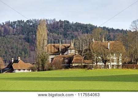 Wittigkofen Palace In Bern, Switzerland