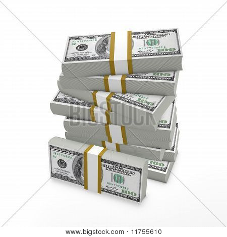 Stack of bills