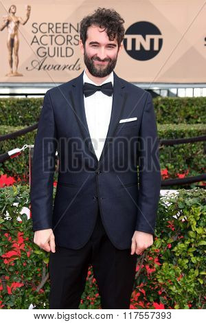 LOS ANGELES - JAN 30:  Jay Duplass at the 22nd Screen Actors Guild Awards at the Shrine Auditorium on January 30, 2016 in Los Angeles, CA