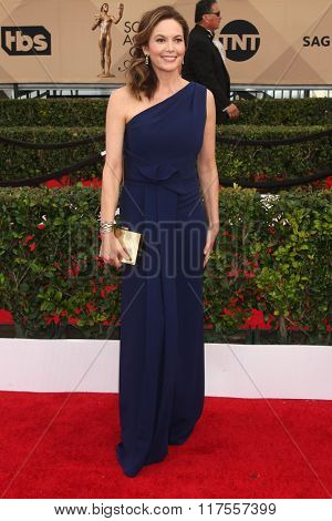 LOS ANGELES - JAN 30:  Diane Lane at the 22nd Screen Actors Guild Awards at the Shrine Auditorium on January 30, 2016 in Los Angeles, CA