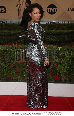 LOS ANGELES - JAN 30:  Selenis Leyva at the 22nd Screen Actors Guild Awards at the Shrine Auditorium on January 30, 2016 in Los Angeles, CA