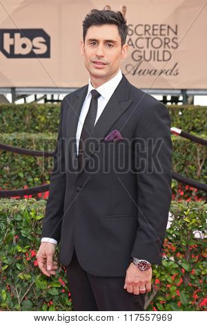 LOS ANGELES - JAN 30:  Rene David Ifrah at the 22nd Screen Actors Guild Awards at the Shrine Auditorium on January 30, 2016 in Los Angeles, CA