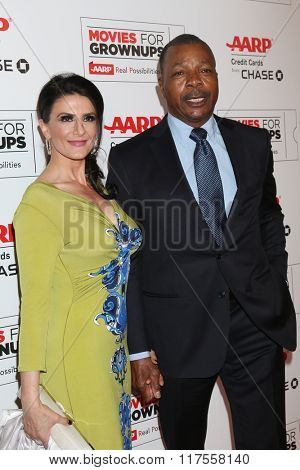 LOS ANGELES - FEB 8:  Carl Weathers at the 15th Annual Movies For Grownups Awards at the Beverly Wilshire Hotel on February 8, 2016 in Beverly Hills, CA