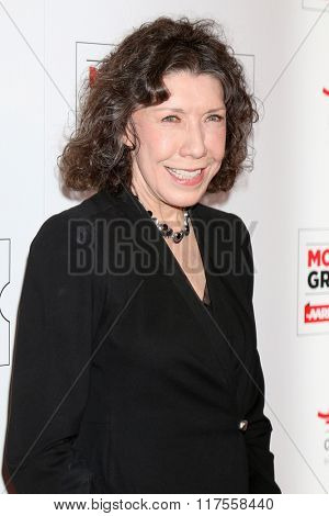 LOS ANGELES - FEB 8:  Lily Tomlin at the 15th Annual Movies For Grownups Awards at the Beverly Wilshire Hotel on February 8, 2016 in Beverly Hills, CA