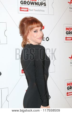 LOS ANGELES - FEB 8:  Kathy Griffin at the 15th Annual Movies For Grownups Awards at the Beverly Wilshire Hotel on February 8, 2016 in Beverly Hills, CA