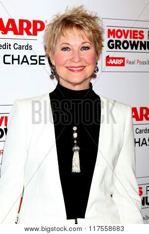 LOS ANGELES - FEB 8:  Dee Wallace at the 15th Annual Movies For Grownups Awards at the Beverly Wilshire Hotel on February 8, 2016 in Beverly Hills, CA