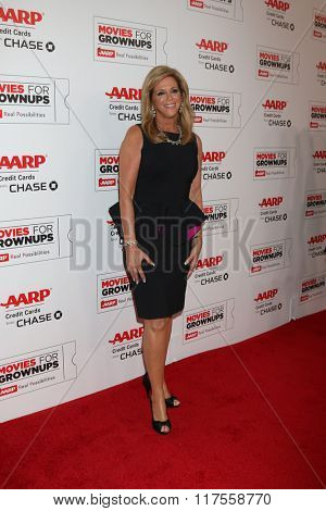 LOS ANGELES - FEB 8:  Joy Mangano at the 15th Annual Movies For Grownups Awards at the Beverly Wilshire Hotel on February 8, 2016 in Beverly Hills, CA