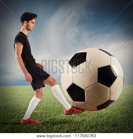 Big soccerball