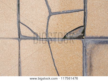 tile cracked texture