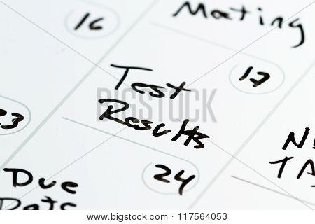 Special Date On A Calendar