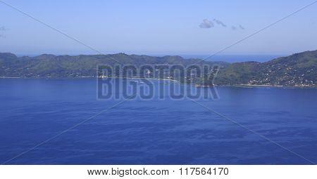 Beautiful Seychelles in the Indian Ocean.