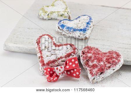 Heart Shaped Sweet Cookies