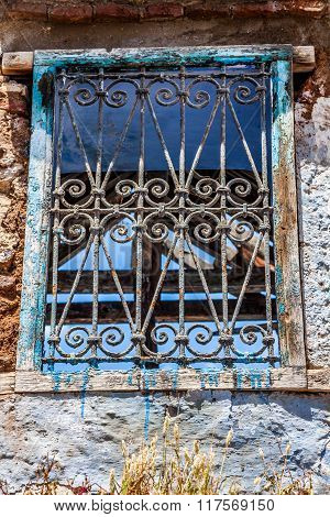 Very Old Window Of Morocco