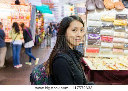 Young Woman in Hong Kong