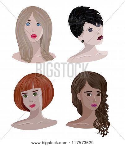 Portraits Of Girls
