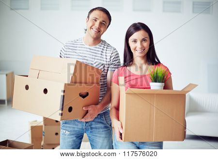 Moving to new house