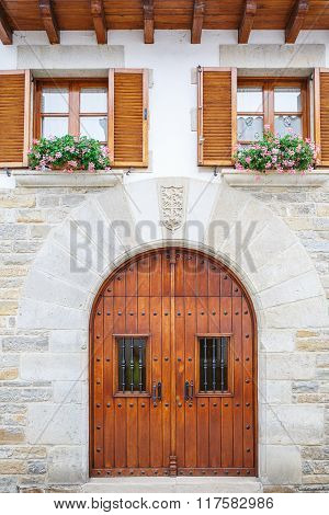 Old textured door