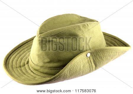 Bush Hat Isolated On White Background