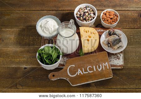 Calcium Rich Foods Sources.
