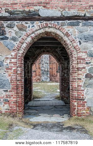 An old archway