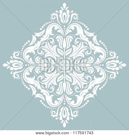 Damask Oriental Pattern